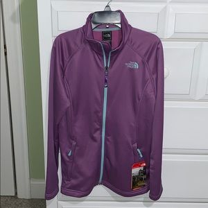 NWT New NORTH FACE Girl's Purple Jacket Size XL 18